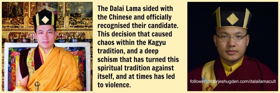 dl cult two karmapas