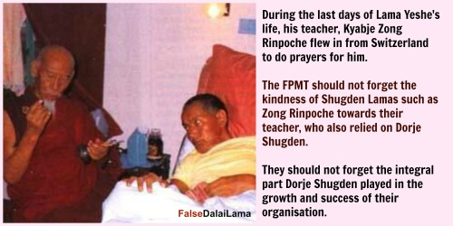 lama yeshe and zong rinpoche