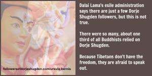 bernis shugden buddhists